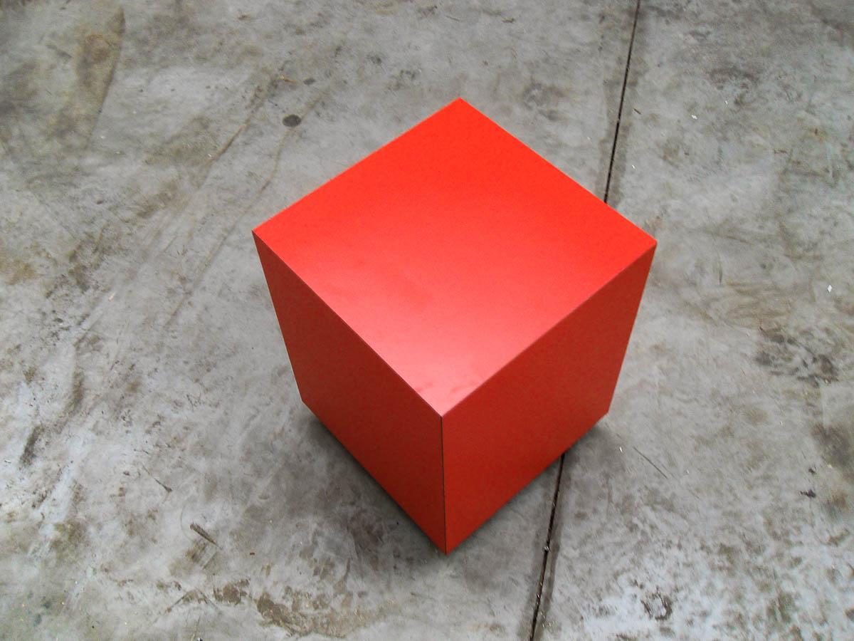 Moderne zitblok gemaakt door JD schrijnwerker Geel